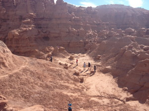 Exploring Goblin Valley