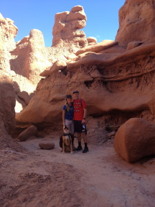 Our dog loved Goblin Valley