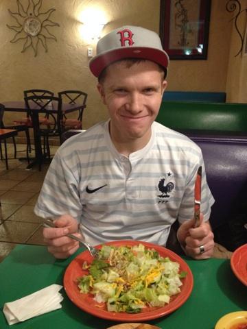 Kyle at El Habanero